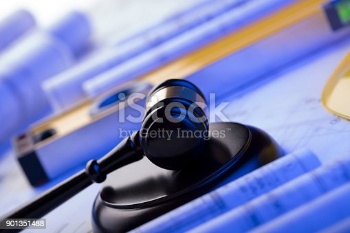901351330istockphoto Labor and construction law. 901351488