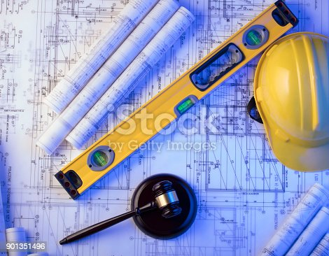 901351330istockphoto Labor and construction law. 901351496