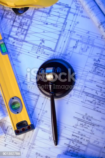 901351330 istock photo Labor and construction law. 901352788