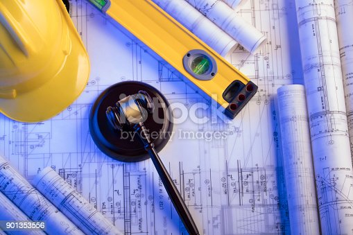 901351330istockphoto Labor and construction law. 901353556