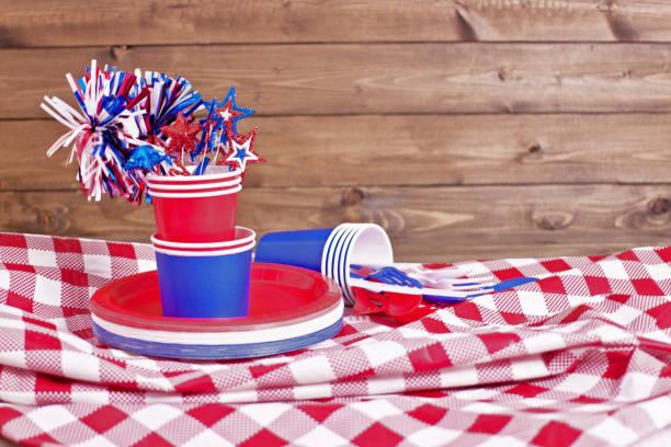 Table de fête fête du travail - Photo