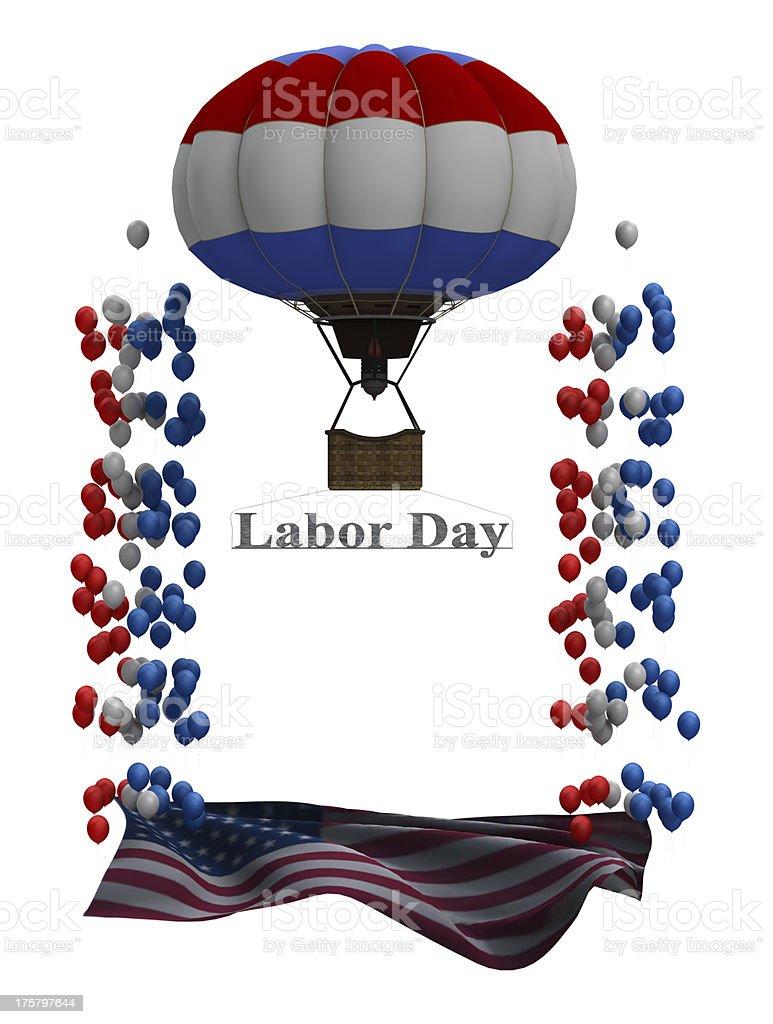 Labor Day Graphic stock photo