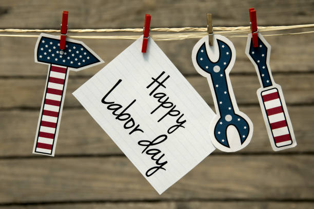 Labor day usa stock photo