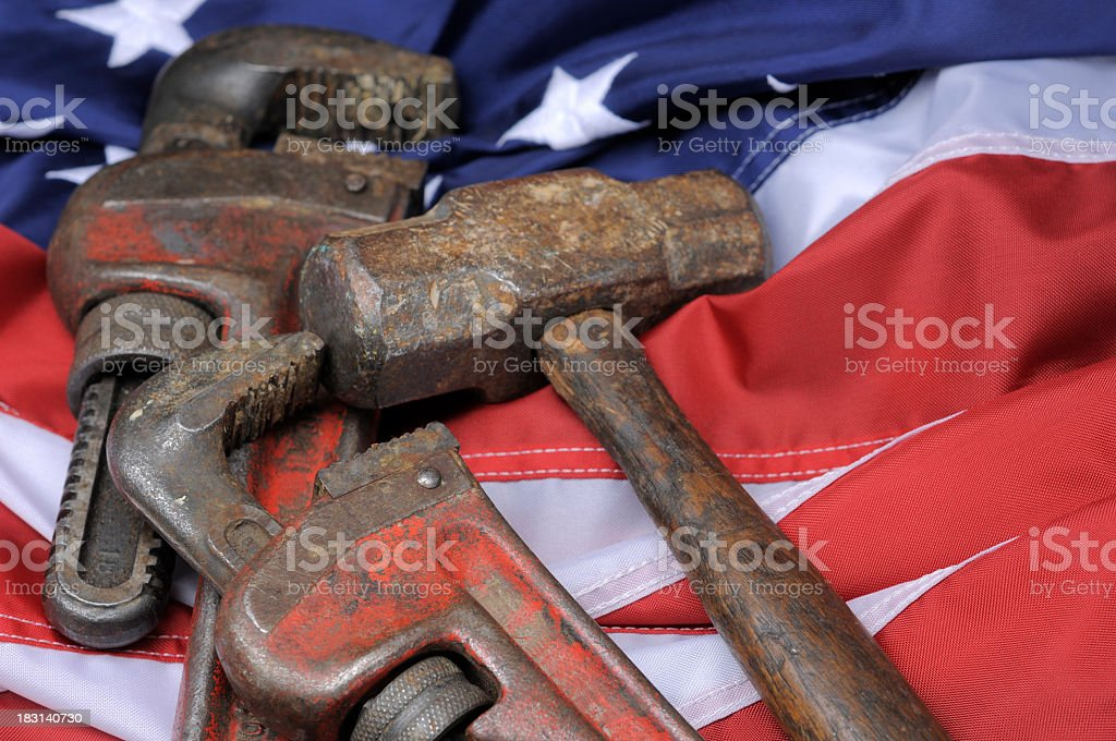 US Labor stock photo