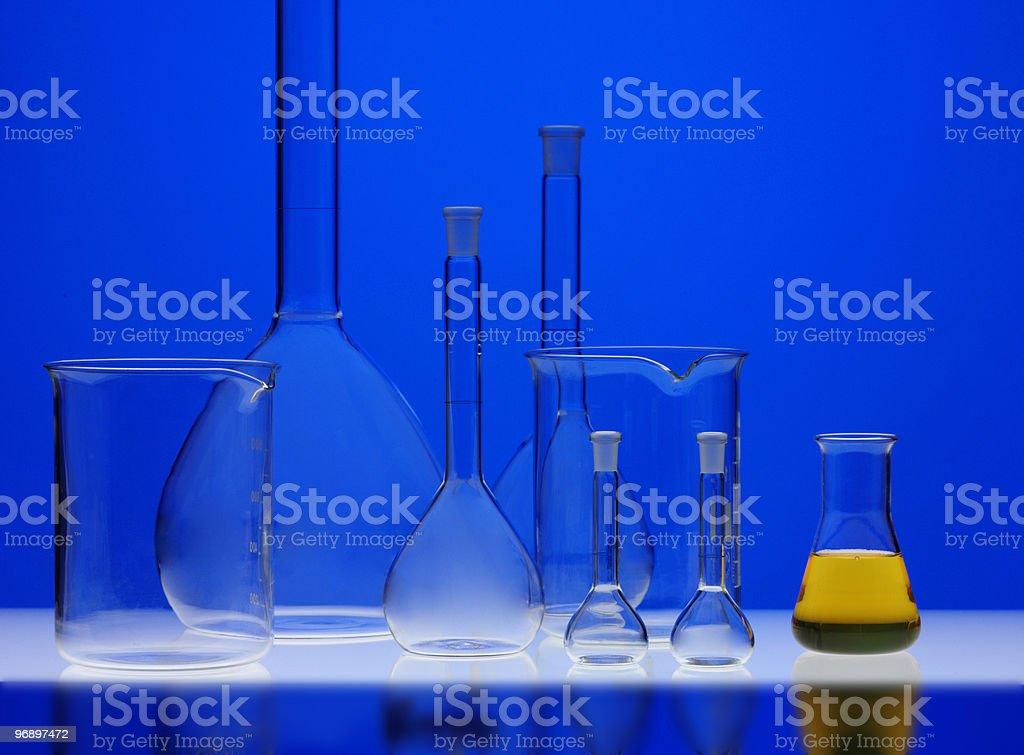 laboratorio di chimica royalty-free stock photo
