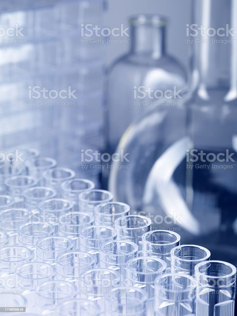 Laboratory background stock photo