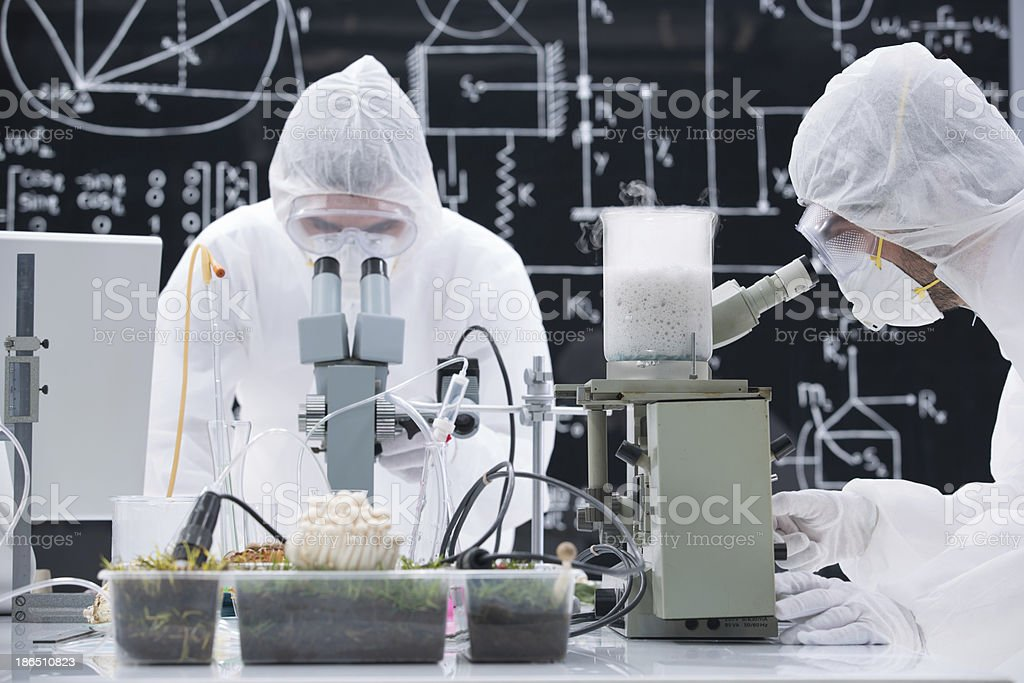 laboratory chemical analysis royalty-free stock photo