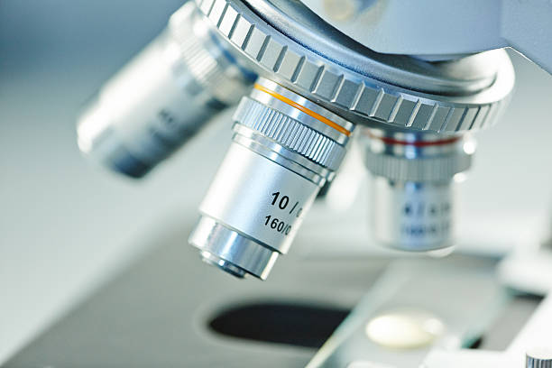 laboratory equipment - microscope stock photos and pictures