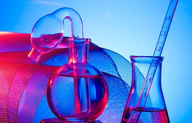 Vaso de Laboratorio - foto de stock