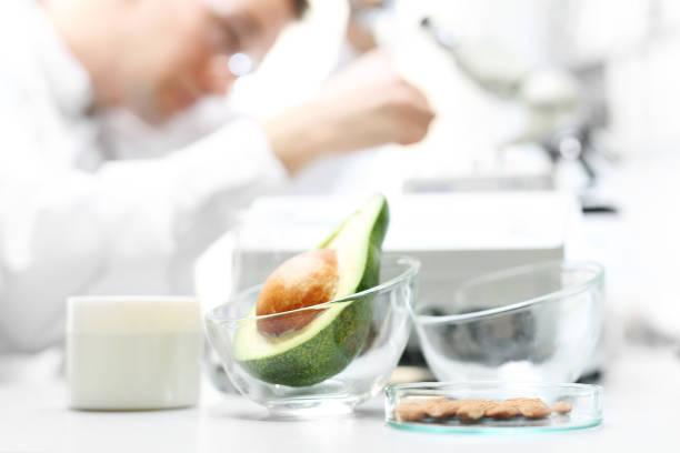 Mikrobiologische Laboruntersuchung von Lebensmitteln. – Foto