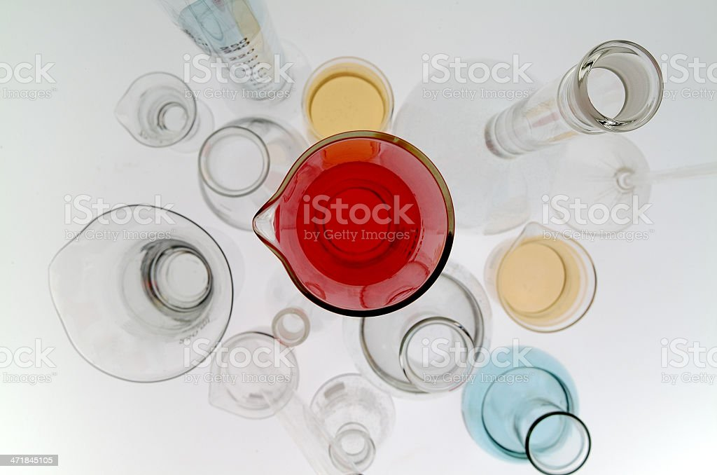 Laboratory of Chemical royalty-free stock photo