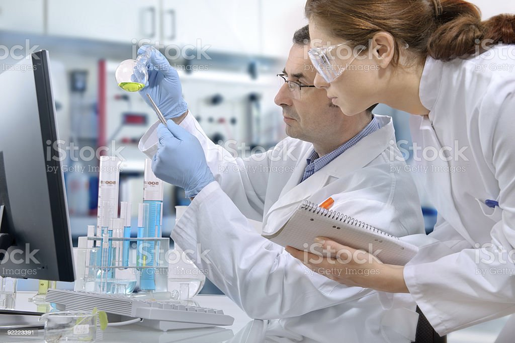laboratory - Royalty-free Adult Stock Photo