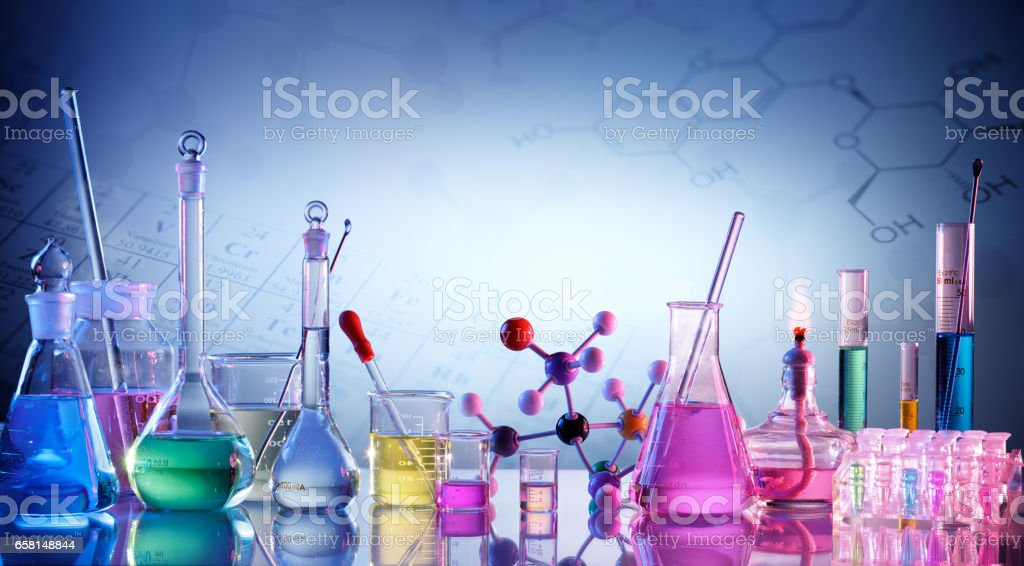 Laboratory Research stock photo