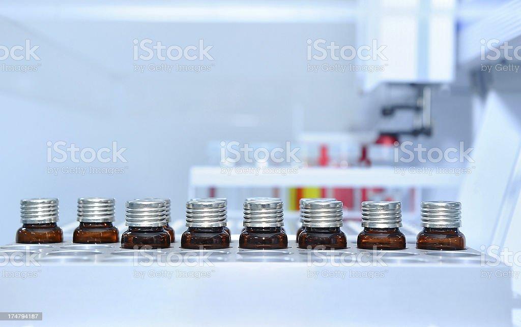 Laboratory samples stock photo