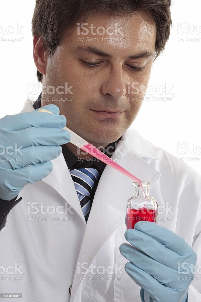 Laboratory scientific or clinical studies royalty-free stock photo