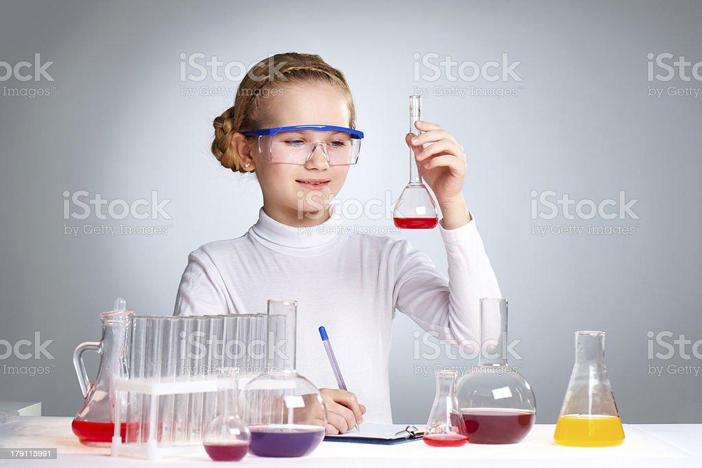 Laboratory test stock photo
