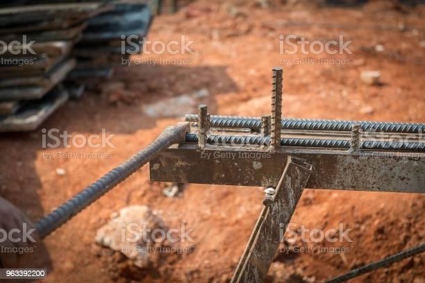 Zbrojenie Robocze Ze Stali Zbrojeniowej - zdjęcia stockowe i więcej obrazów Betonowy