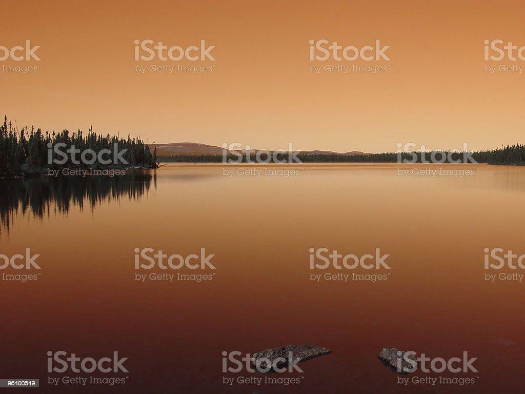 Labrador Sunset - Royalty-free Bright Stock Photo