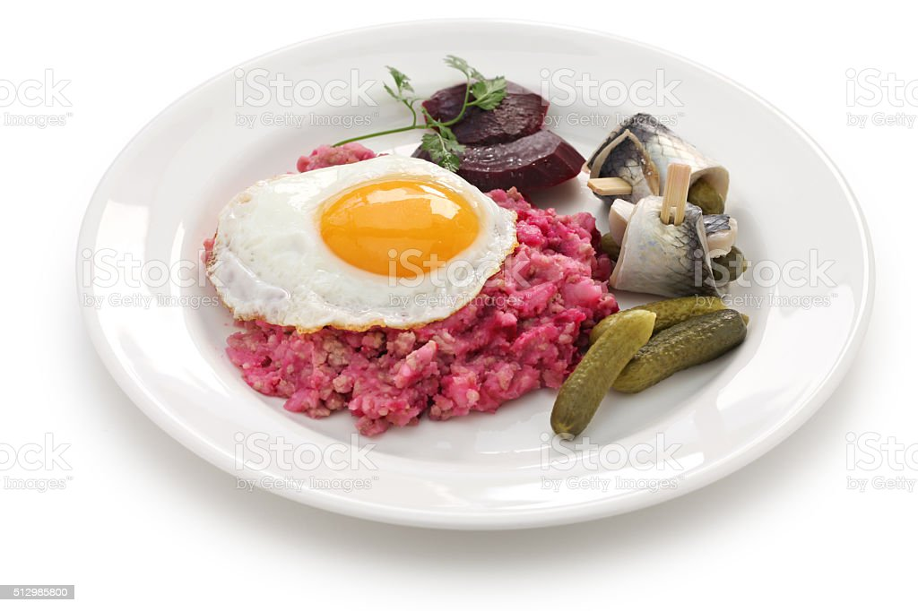 labskaus, Northern Germany cuisine stock photo