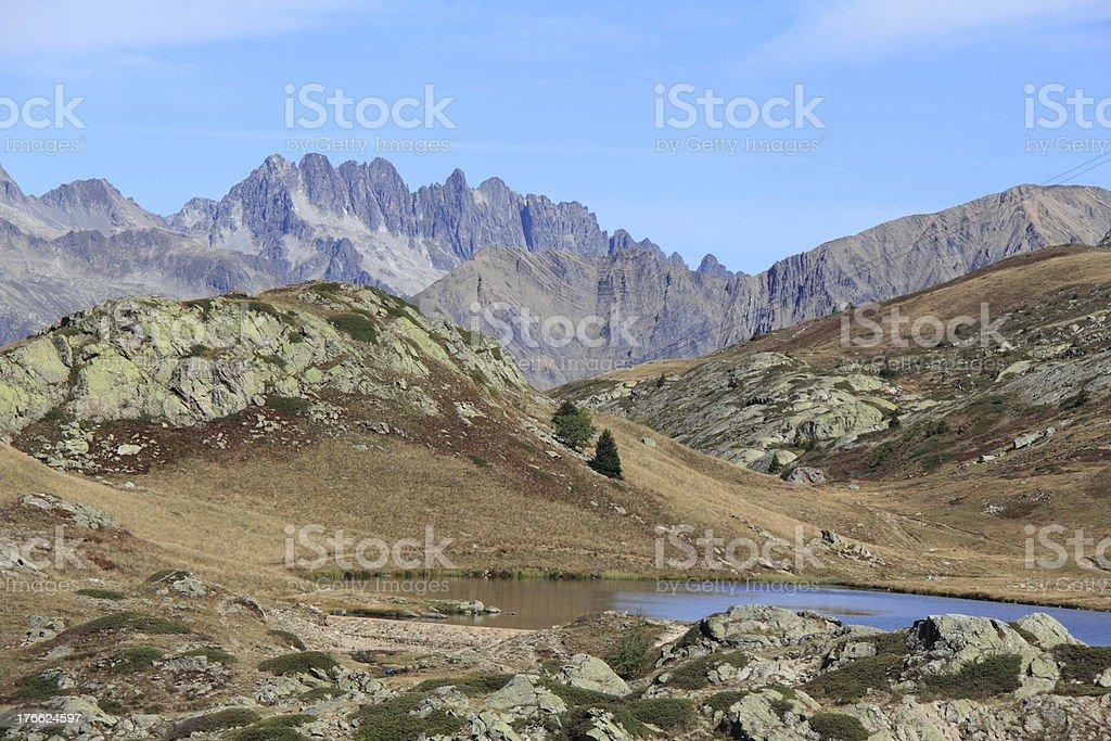 Lac Blanche Alpe d'Huez foto