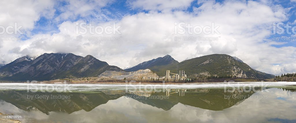 Lac Des Arcs, Kananaskis Counrty royalty-free stock photo
