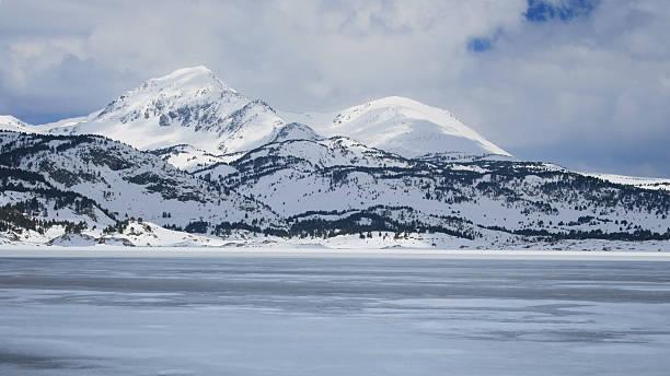 Lac des Bouillouses stock photo