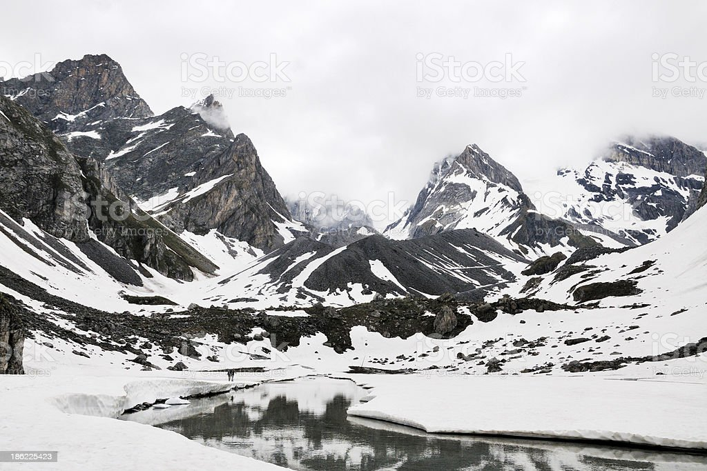 Lac des Vaches royalty-free stock photo