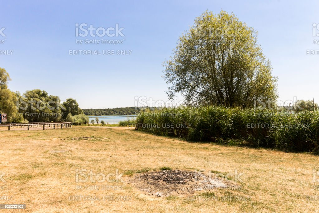 Lac d'Orient, France stock photo
