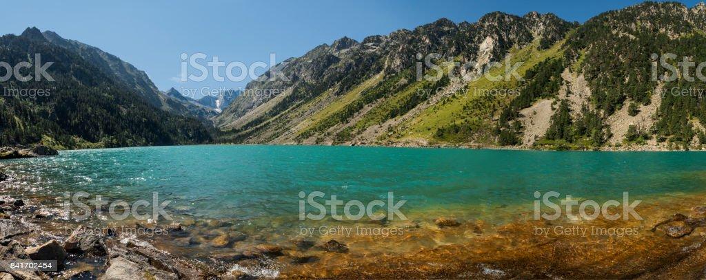 Lac du Gaube stock photo