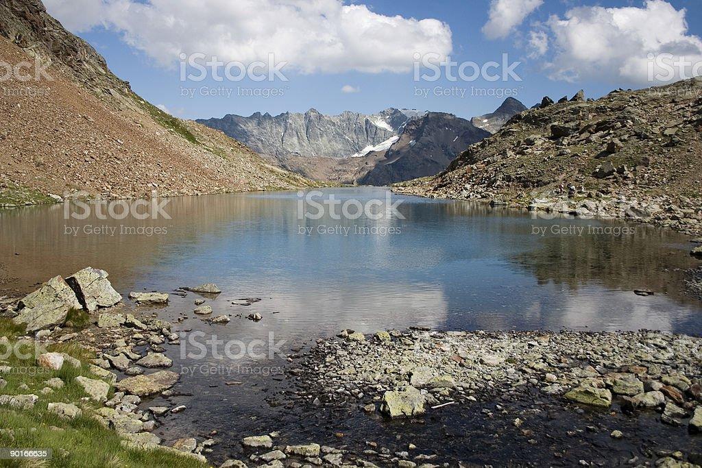 Lac Long (Bionaz, Valpelline, Italy) 05 royalty-free stock photo