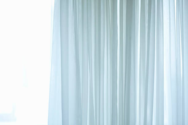 Lace Curtains Lace Curtains lace textile stock pictures, royalty-free photos & images