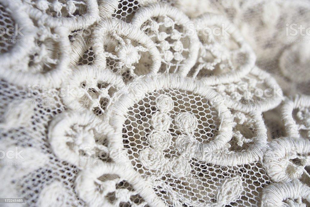 lace macro royalty-free stock photo