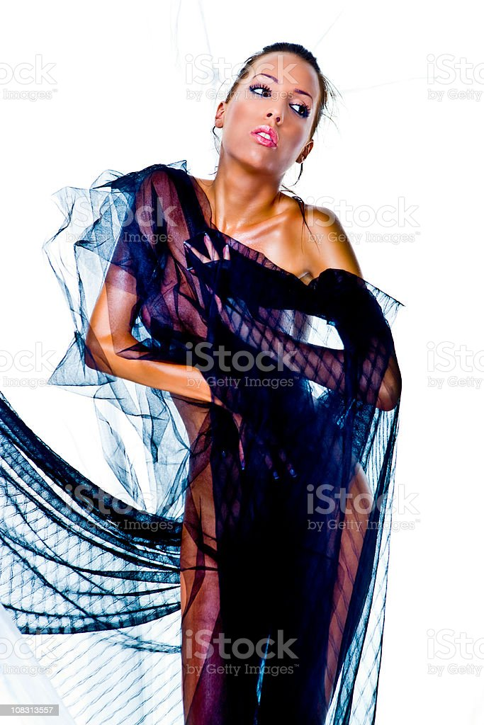 Lace mistress royalty-free stock photo