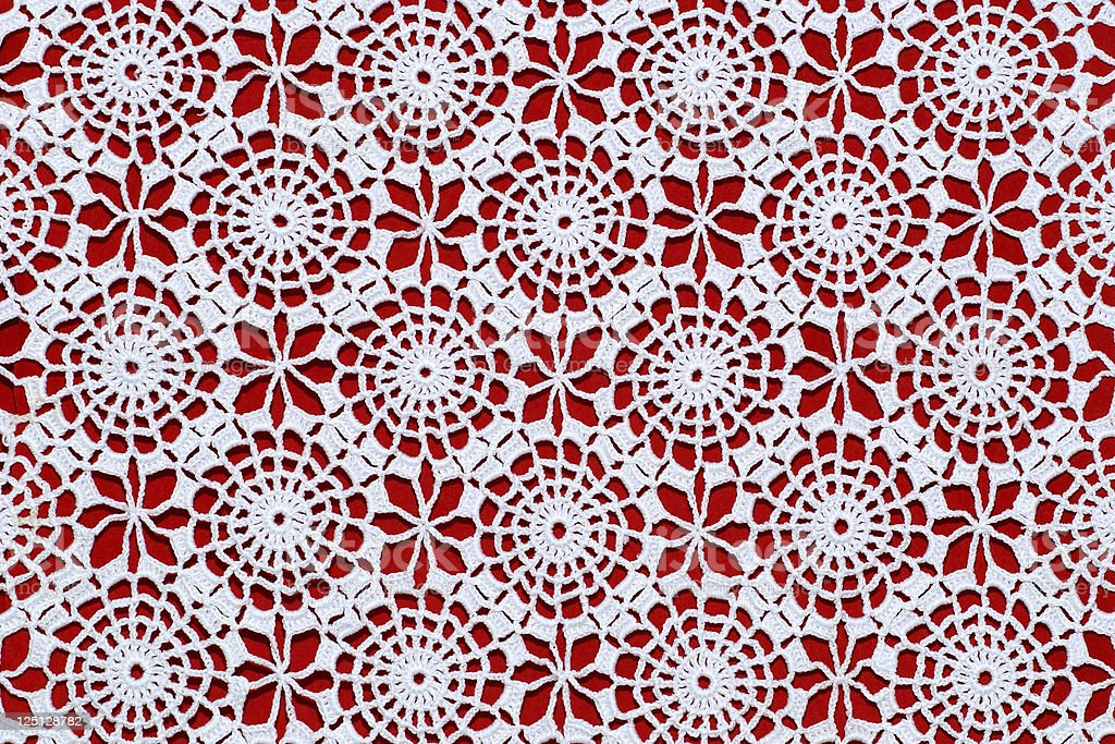 lace tablecloth royalty-free stock photo