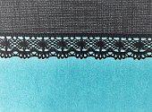 Lace textile negative effect background