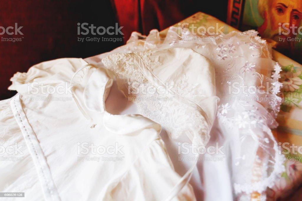 Geschnürte Kleid Für Die Taufe Elegantes Outfit Für Kleine