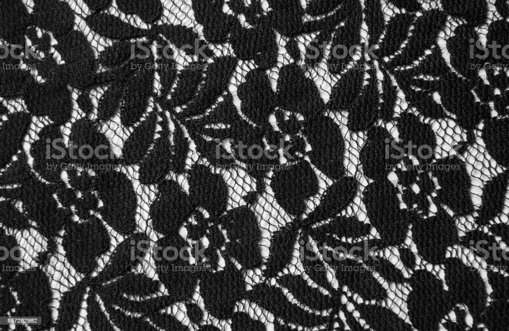 Lace-textile stock photo