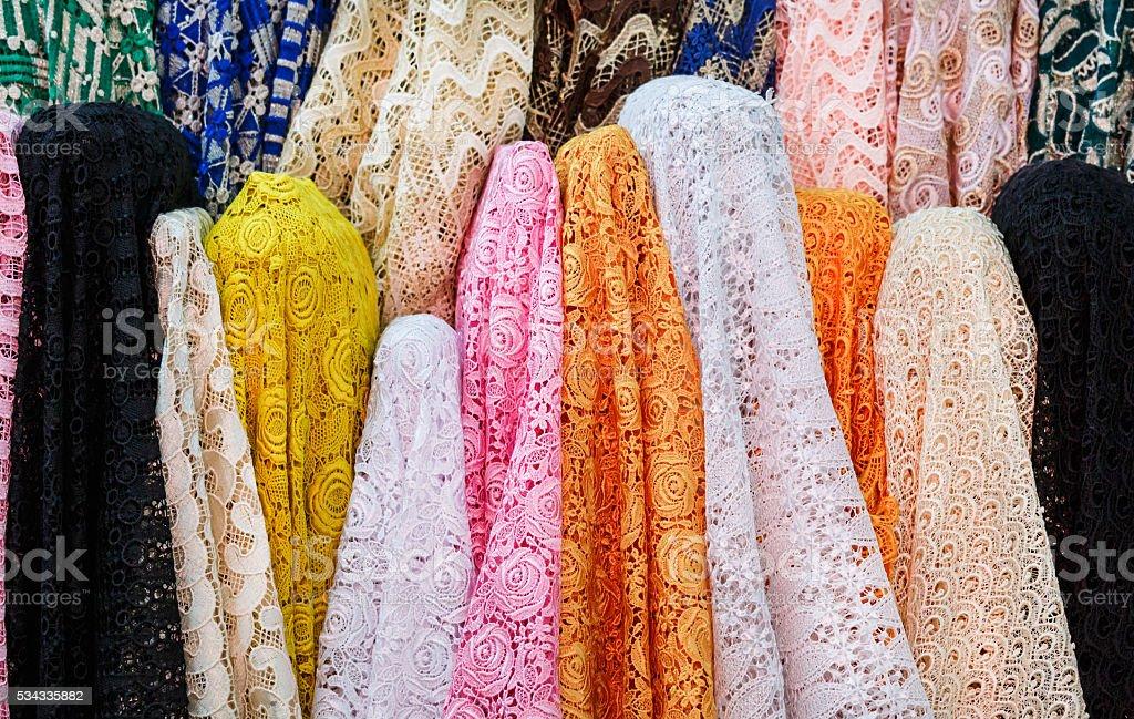 Lacework Cloth stock photo