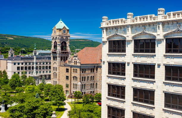 Lackawanna County Courthouse In Scranton, Pennsylvania stock photo