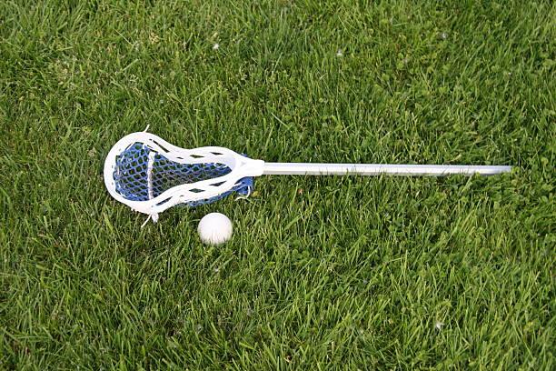kij i piłki lacross - kij do gry w lacrosse zdjęcia i obrazy z banku zdjęć