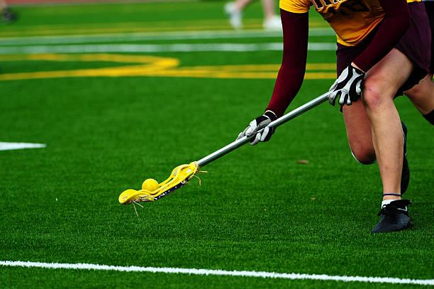 lacrosse piłka odwróć odtwarzacz - lacrosse zdjęcia i obrazy z banku zdjęć