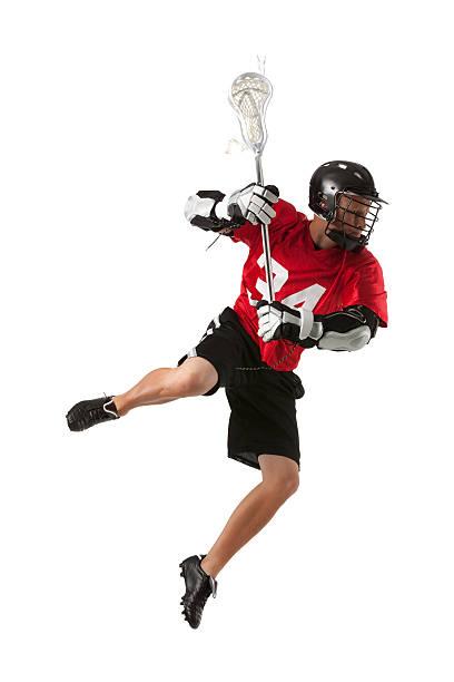 lacrosse player w akcji - lacrosse zdjęcia i obrazy z banku zdjęć