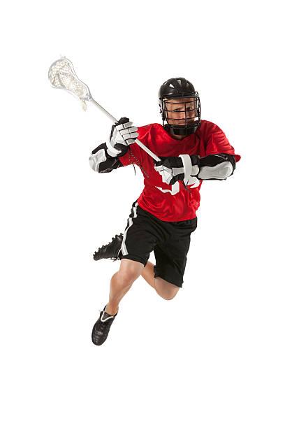 lacrosse player w akcji - kij do gry w lacrosse zdjęcia i obrazy z banku zdjęć