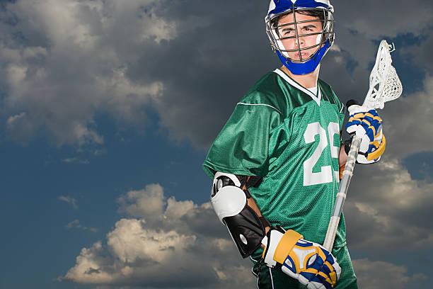 lacrosse player - lacrosse zdjęcia i obrazy z banku zdjęć