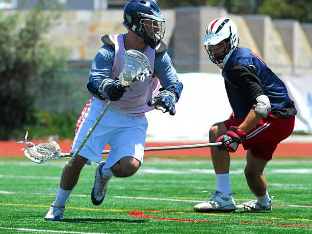 lacrosse graczy - lacrosse zdjęcia i obrazy z banku zdjęć