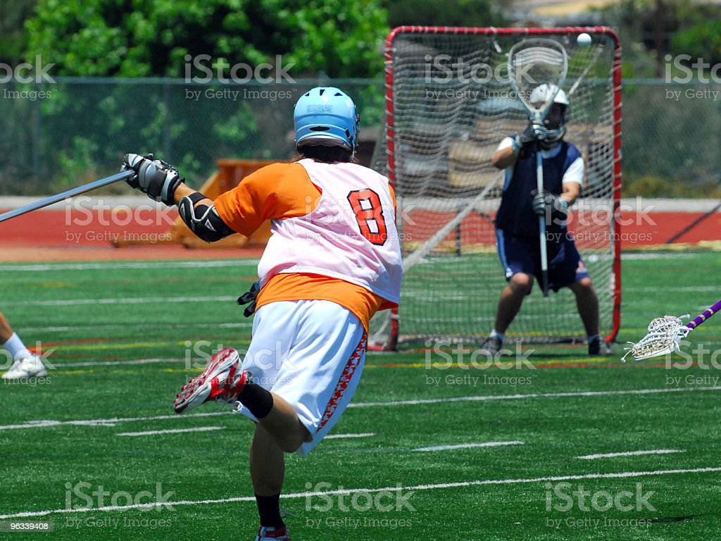 LaCrosse Shooter - Zbiór zdjęć royalty-free (Lacrosse)