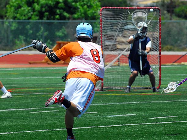 lacrosse shooter - lacrosse zdjęcia i obrazy z banku zdjęć