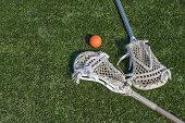 istock Lacrosse stix and ball 172900246