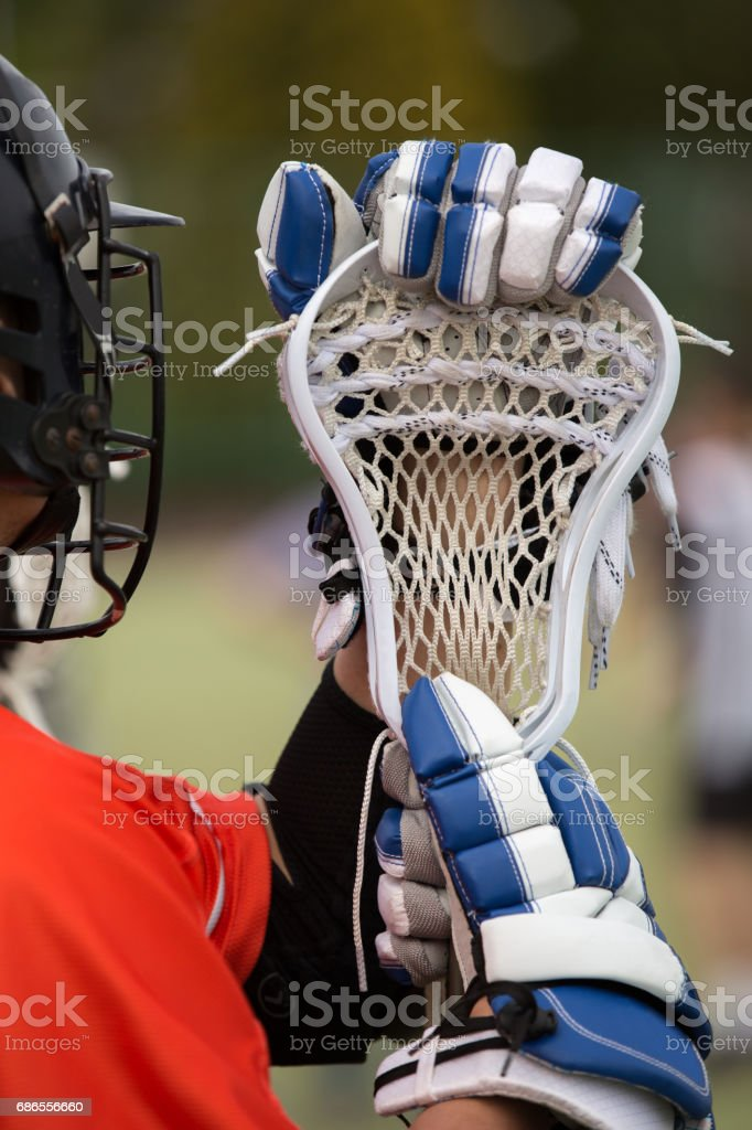 Lacrosse themed photos foto de stock libre de derechos