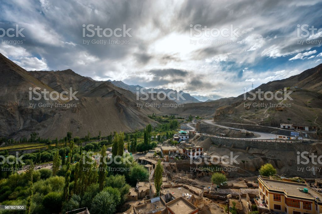 Ladakh landscape stock photo